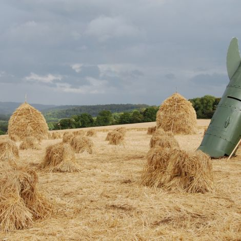 Straw Stooks. Rental Only