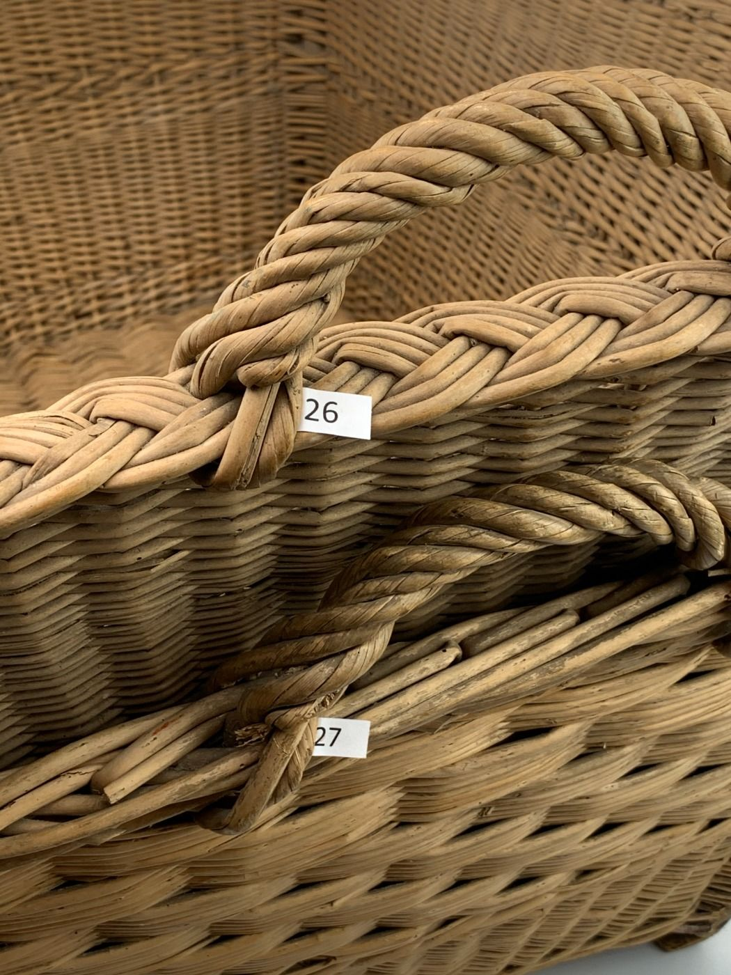 Linen baskets – www.BrandonThatchers.co.uk