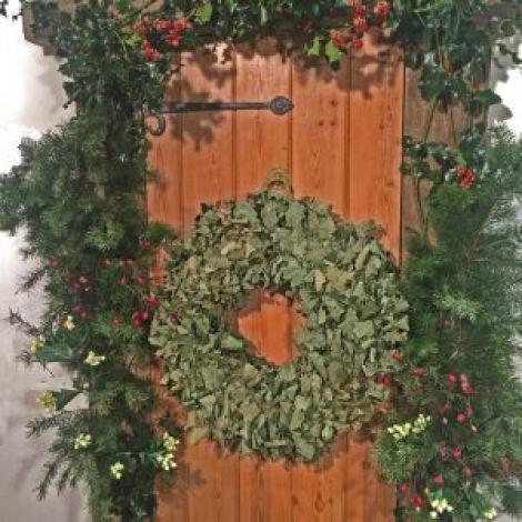 Wreath - Oak LeafEND OF LINE, WHEN ITS GONE ITS GONE