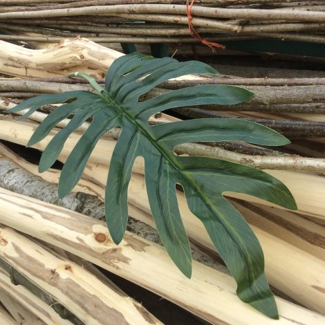 Philodendron Tropical Leaf 98 cm long artificial foliage