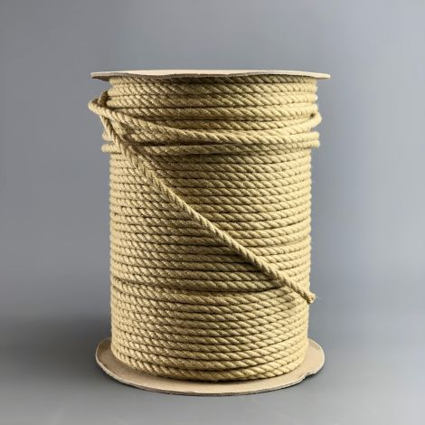 Thatch Tile Fixing Rope x 10 m by 8 mm diameter, natural effect synthetic rope