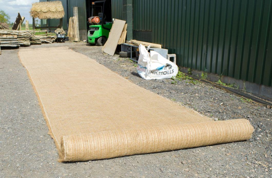 Coir Fibre Matting Roll - www.BrandonThatchers.co.uk