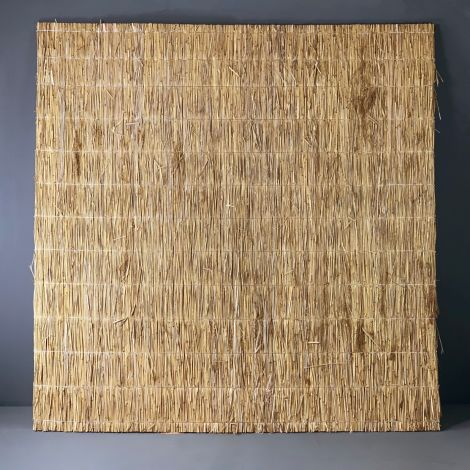 """Water Reed Panels, 2 m by 2 m. Approx. 1"""" thick. Easy to fit"""