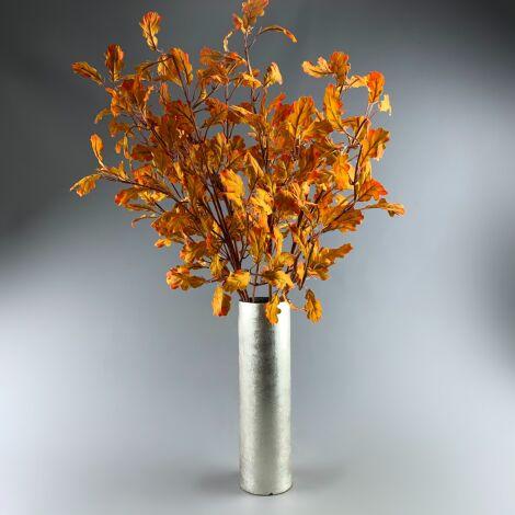 Oak Tree Leaves, 80 cm of artificial twig & leaves. Set of 8 Stems