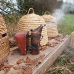 Bee Skeps - www.BrandonThatchers.co.uk