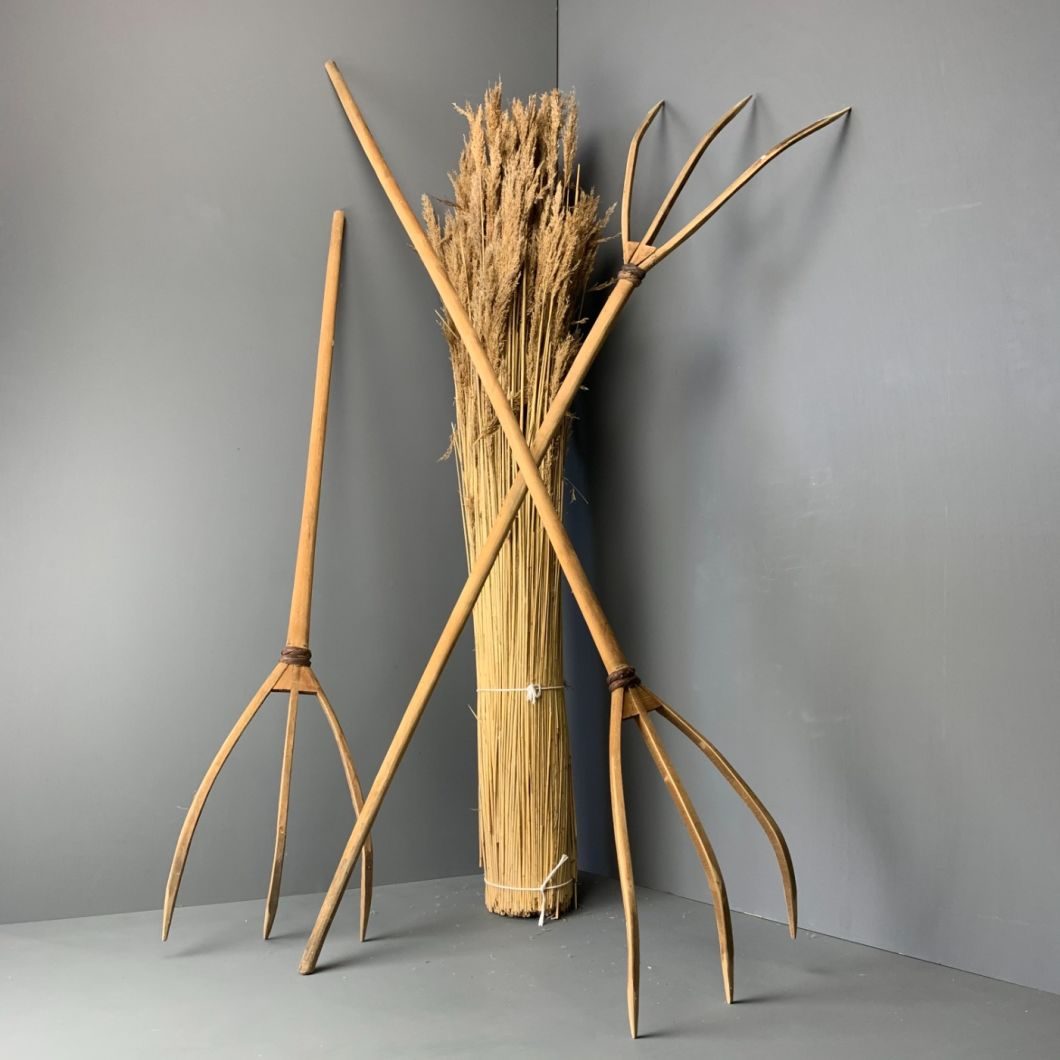 Traditional Hay Fork - www.BrandonThatchers.co.uk