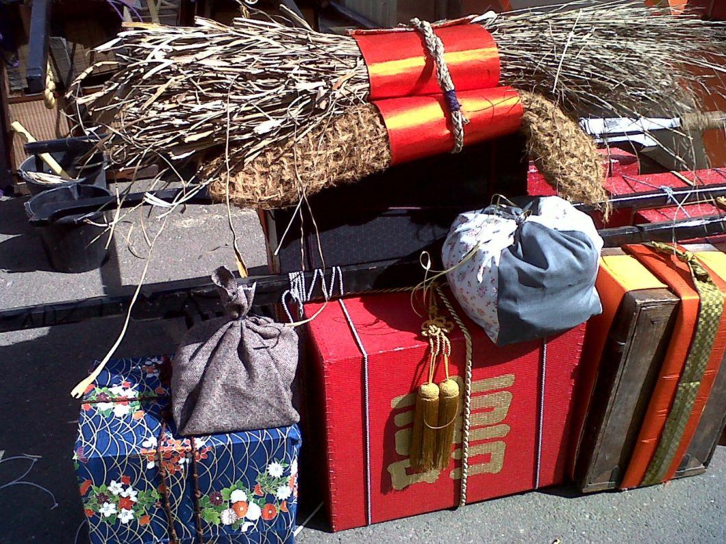 Sedge Bundle as Gift - www.brandonthatchers.co.uk