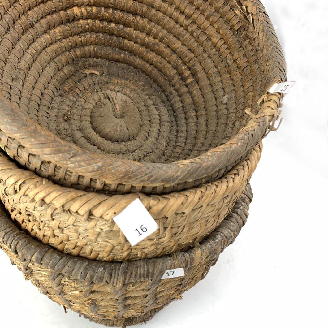 Straw Baskets - www.BrandonThatchers.co.uk