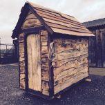 Rustic Cladding Hut - www.brandonthatchers.co.uk