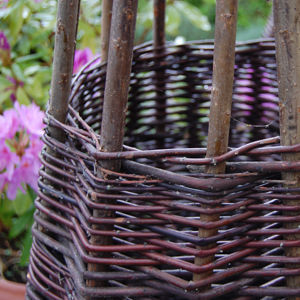 Willow wigwam – www.BrandonThatchers.co.uk