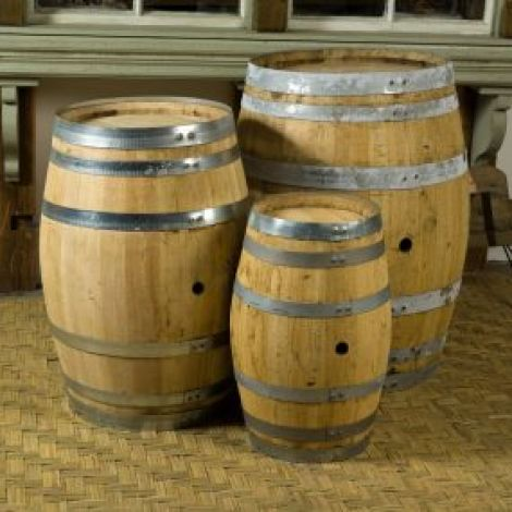 Oak Sherry Barrels, 64 ltr, 100 ltr or 150 ltr. Craftsman made