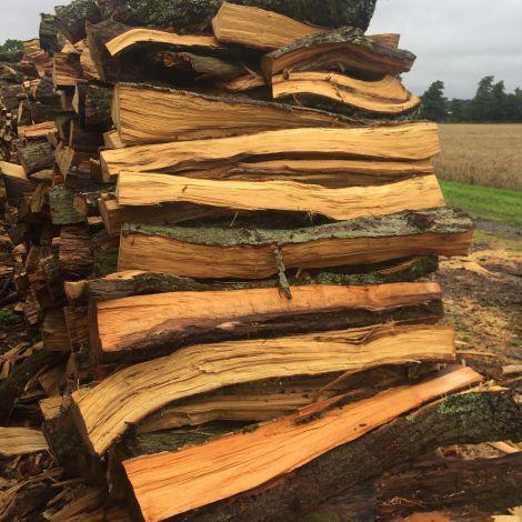Riven Log Firewood, approx. 1.1m, 3ft tall