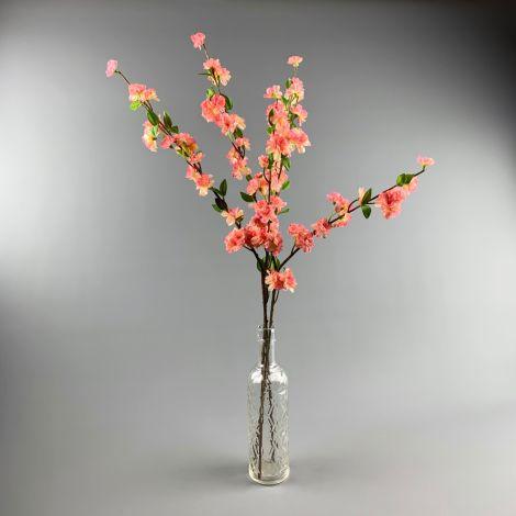 Peach Blossom Spray 92 cm artificial flowers and leaves