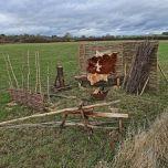 Green Wood Workshop - www.BrandonThatchers.co.uk