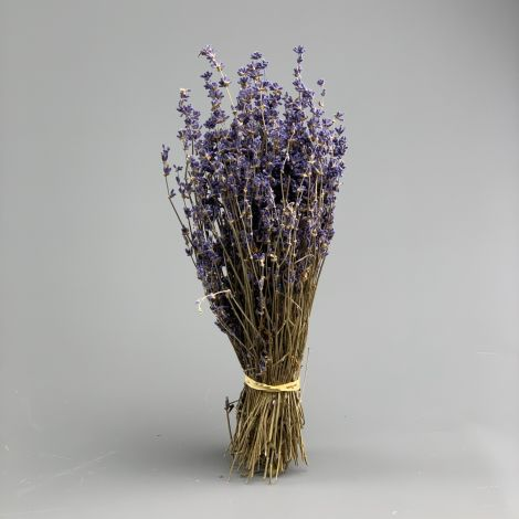 Lavender, 30cm long by 10 cm wide dried herb bunch
