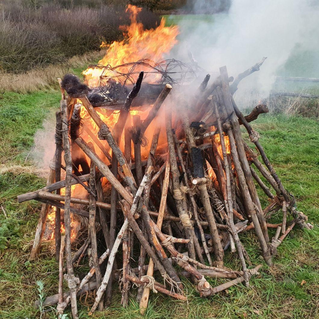 Funeral Pyre - www.BrandonThatchers.co.uk