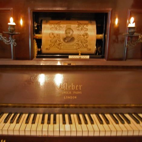 Vintage Pianola (working!) Rental Only
