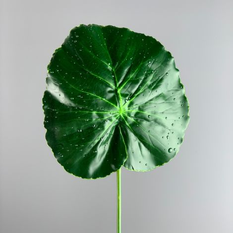 Lotus Leaf Raindrop, 76 cm tall, artificial foliage, poseable stem