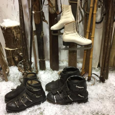 Vintage Ice Skates/ Ski BootsRENTAL ONLY
