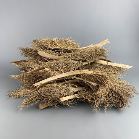 Palm Head x 5, approx. 30 to 60 cm long, by 5 to 10 cm wide, Natural Dried Floral Deco