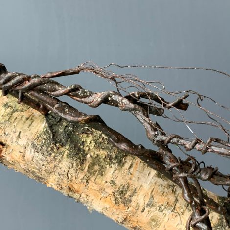 Twig Vine, approx. 180 cm long, posable with wired stems, artificial