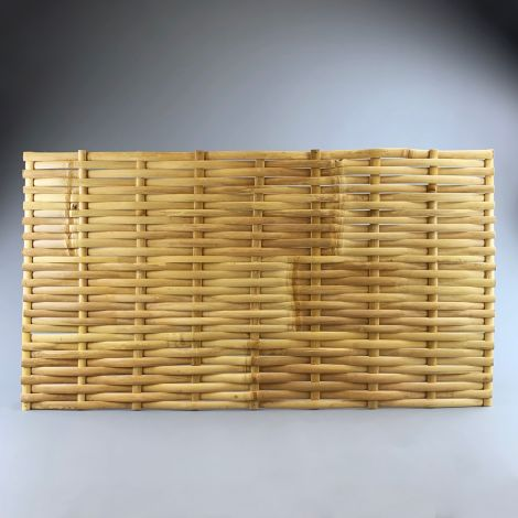Bamboo Woven Deco/Fence Panel, approx. 1.1 m wide x 60 cm high