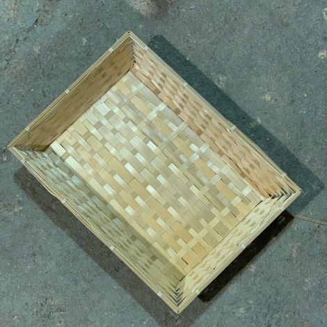Rectangle Bamboo Tray Baskets