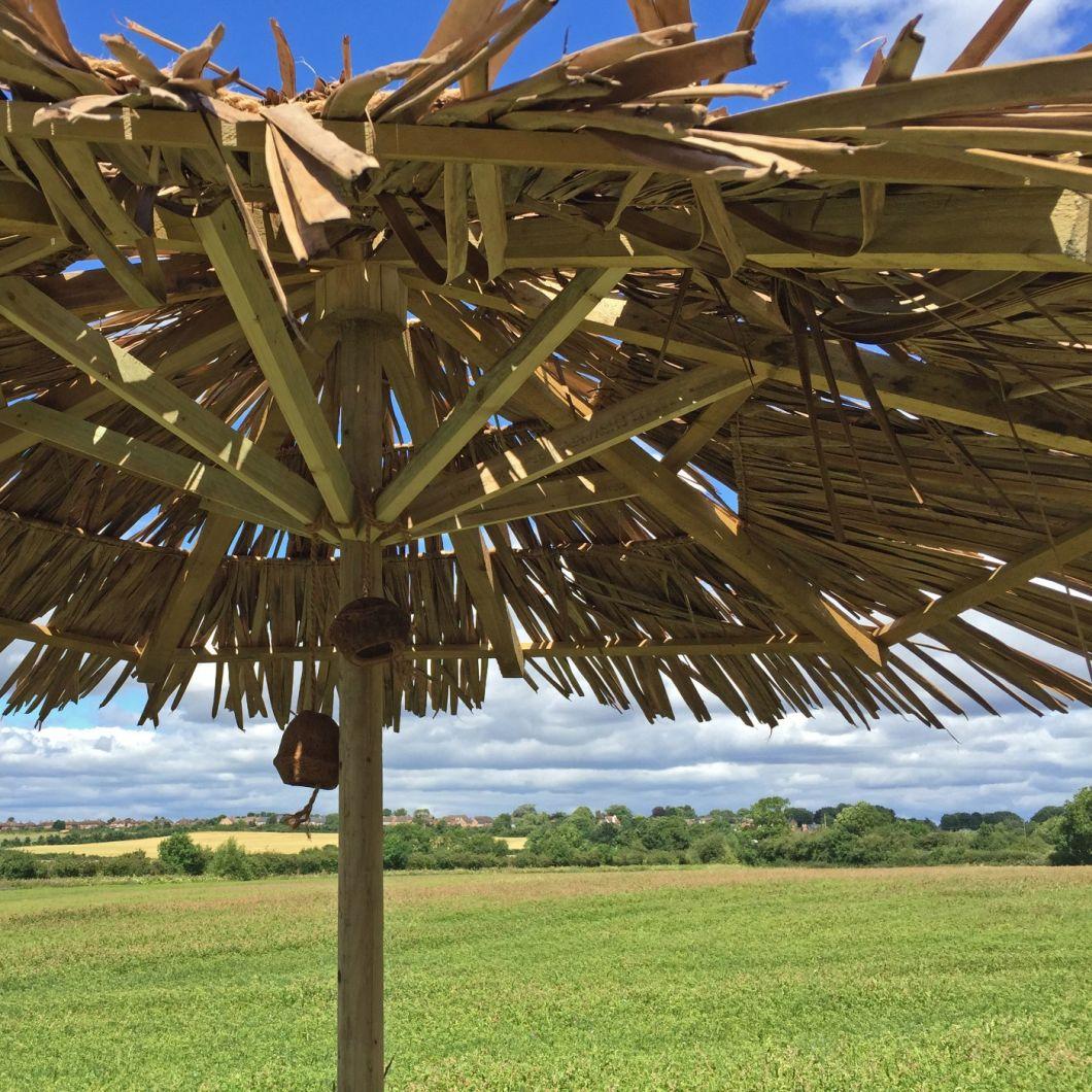 Palm Roll – www.BrandonThatchers.co.uk