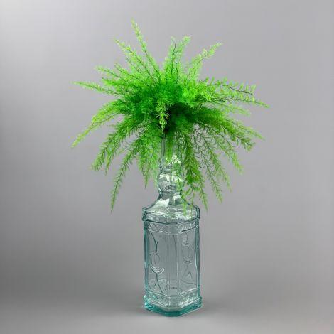 Fern Vivid Green, preserved, approx. 20 cm length, 20 cm spread