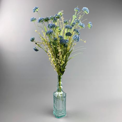 Wildflower, Cornflower, Blue, 53cm tall artificial flower & foliage