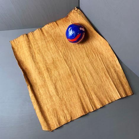 Lantung Bark Roll/Vegan Leather. Soft natural plant material