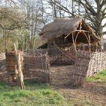 Hazel Enclosure - www.brandonthatchers.co.uk
