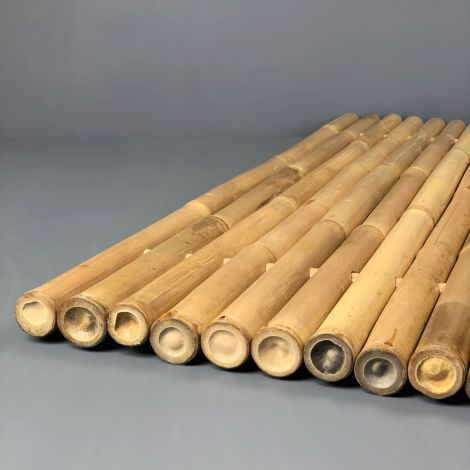 Bamboo Stem Deco/Fence/Panel/ Divider/Duck-board, approx. 1.8 m wide by 1 m tall by 6 cm thick