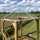 Roof frame fit – www.BrandonThatchers.co.uk