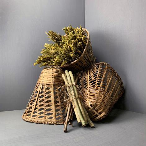 3 x Peasants Gathering Basket, RENTAL ONLY