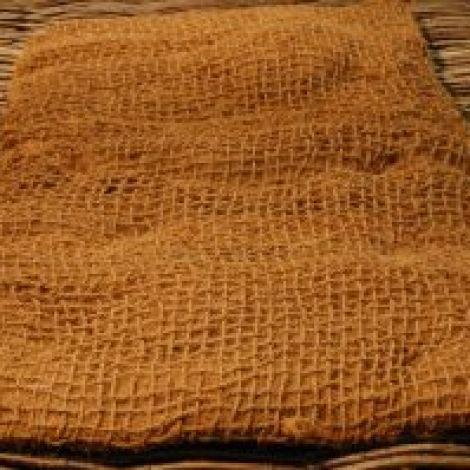 Stuffed Coir Net Sack, approx.2 m long x 80 cm wide x approx 12 cm height. Ideal baggage/cart dressing