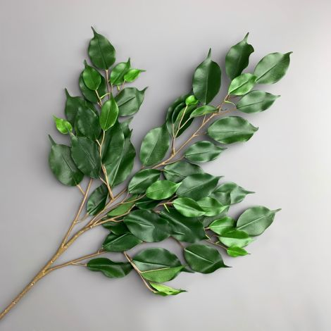 Ficus Fire Retardant Foliage, 75 cm long, 40 leaves, poseable stems