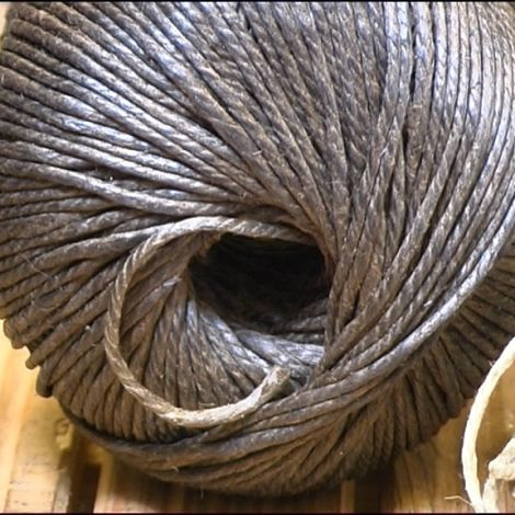Tarred Flax Twine, approx. 3 mm diameter by 145 m long